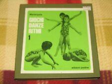 """Mariangela - GIOCHI DANZE RITMI Vol.1 / Cofanetto 5Lp 7"""" Edizioni Paoline 5LP 7"""""""