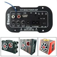 Power Amplifier Board Bluetooth Power Amplifier USB Dac FM Radio TF Player