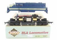 HO Life-Like Proto 2000 MP - Missouri Pacific EMD BL2 Locomotive #4104 New Gears