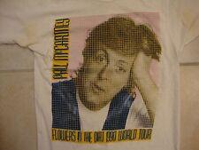 Vintage Paul McCartney Flowers In The Dirt World Tour 1990 T Shirt S
