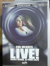 Dvd - Live! Ascolti record al primo colpo - Eva Mendes (Vendita)