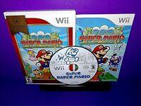 Super Paper Mario (Nintendo Wii, 2007) Complete B530