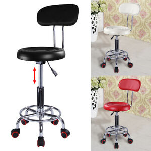 Adjustable Beauty Spa Salon Stool Massage Lift  Round HairdressingSwivel Chair