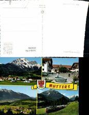 454246,Mutters Totale Brunnen Stubaitalbahn Mehrbildkarte
