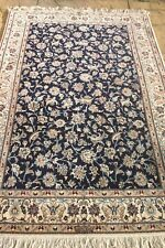 Persian Habibian Nain Isfahan silk and wool handmade hand knotted rug 215 x 130
