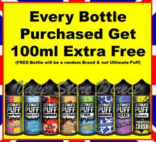 Ultimate Puff E Liquid 100ml 0mg