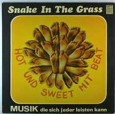 """12"""" LP - Snake In The Grass - Hot Und Sweet Mit Beat - G677 - cleaned"""