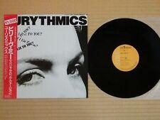 "Eurythmics – Would I Lie To You? RPS-1013 12""EP Japan Insert Obi Near Mint"