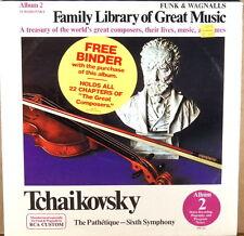 SEALED RCA CUSTOM Tchaikovsky JURGENS Symphony #6 INCLUDES SERIES BINDER ALBUM 2