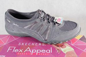 Skechers Baskets Chaussures de Sport Basses Gris Neuf