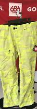 2020 NWT 686 Vice Shell Pant Pants Mens L Large Snowboard 10K Sulphur Camo c19