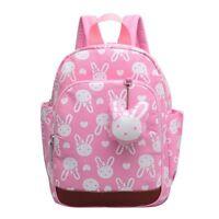 Rabbit Cute Kids Children Backpack School Bag for Girls Pink