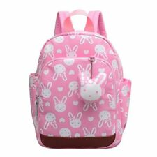Rabbit Cute Kids Children Backpack School Bag for Girls Pink
