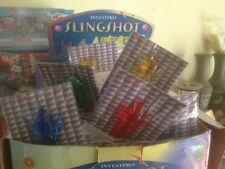 Lot Of 120 Soft Sticky Slingshot Shooters, Insects, (120 In The Box)