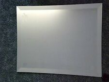FRAMELESS BEVELLED EDGE MIRROR - MADE TO YOUR OWN SIZE -  UPTO 914mm x 610mm