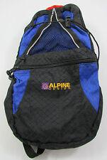 Alpine Design Black Blue Hydration Backpack Hiking Cycling Bike Pack