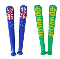 2x Australian Australia Day Inflatable Blow Up Thunder Sticks Souvenir Flag