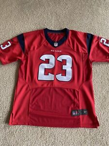Arian Foster Houston Texans NFL Jersey 2XL 52 Nike jersey, BLUE/RED BRAND NEW