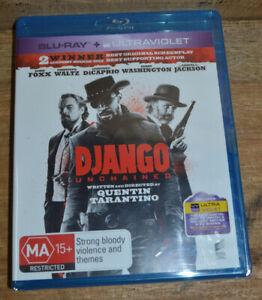 Django Unchained (Blu-ray 2013) - Leonardo DiCaprio, Christoph Waltz - Sealed