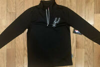 NBA San Antonio Spurs Half Zip Pullover. Boys 10-12. Condition Is New.