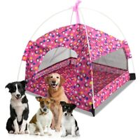 1Pc Large Pet Dog Summer Breathable Tent Cat Indoor Outdoor House Bed