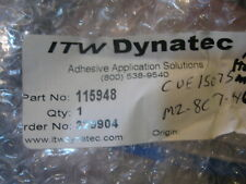New Itw Dynatec Adhesive Hot Glue Melt Kit pn#- 115948