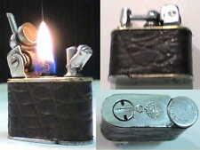 Briquet ancienLANCEL Automatique Vintage Wick Lighter Feuerzeug Accendino