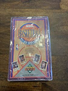 1991-92 Upper Deck NBA Basketball. Factory Sealed Box HIGH SERIES 2.