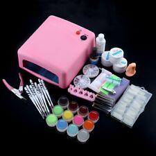 Professional 36W  Cure Lamp Dryer UV Gel Nail Tools Full Set Kit