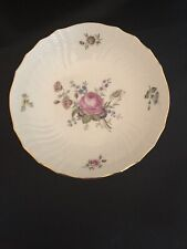 """New Listing8 1/4"""" Royal Copenhagen Hand Painted Flower Design Roses Bowl"""