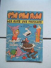 EDITION LUG / PIM PAM POUM / NUMEROS  18 / OCTOBRE  1958