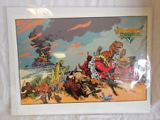 Cadillacs and Dinosaurs Poster     1993    Mark Schultz