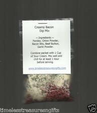 NEW Homemade Creamy Bacon Dip Mix Gourmet Food Gift