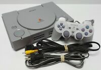 Sony PlayStation Bundle (Console, 1 controller, Cables, Memory card & 2 games)