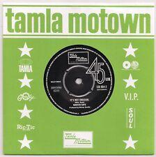 TAMLA MOTOWN MARVIN GAYE - IT'S NOT UNUSUAL / MARVIN & TAMMI WE'LL BE SATISFIED