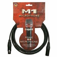Klotz M1FM1N0300 Prime Microphone Cable With Neutrik XLR - 3m