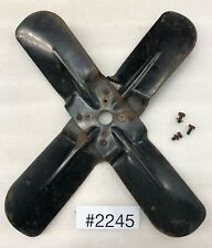 1946 1947 1950 Chevrolet Truck Cooling 4 Blade Fan Blade With Only 3 Bolts 2245