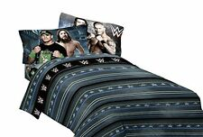 NEW WWE Industrial Strength Bedding Twin Sheet Set FREE SHIPPING