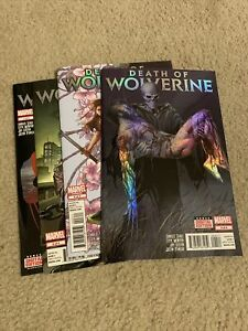 Death Of Wolverine Issues #1-4 1 2 3 4 Complete Full Run Set VF/NM