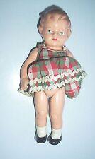 Schöne kleine Masse Puppe für Puppenstube ? um 1930 !