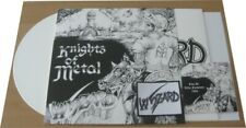 "WYZARD: Knights of metal 12"" EP (Texas-Metal) Militia Watchtower White Vinyl"