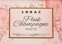 Lorac Pink Champagne Eye Shadow Cheek Highlighter Bronzer Palette Makeup