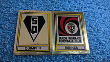 Panini Football 1979 Écusson 445 Rennes Quimper #SRFC Stade Rennais