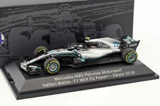 Valtteri Bottas Mercedes-AMG F1 W09 EQ Power+ #77 Formel 1 2018 1:43 Minichamps