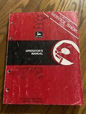 John Deere 4050 4250 4450 Tractor Operator Manual Omrw21230