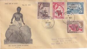 GHANA, 1958 INDEPENDENCE FDC