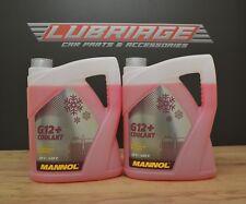 10L Coolant Antifreeze G12+ RED Ready Mixed -30°C / +125  German Hi Spec