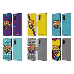 OFFICIAL FC BARCELONA 2019/20 CREST KIT LEATHER BOOK CASE FOR SAMSUNG PHONES 1