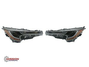 For 2020 2021 Toyota Corolla L LE Headlight Assembly LED Right and Left Set