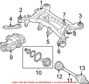 Genuine OEM Rear Right CV Axle Assembly for BMW 33207568730